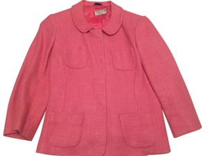 Talbots High Quality Made In Italy Pink Blazer