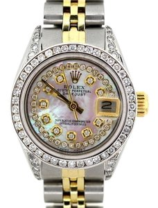 Rolex 26mm Stainless Steel and Gold Ladies Rolex Datejust