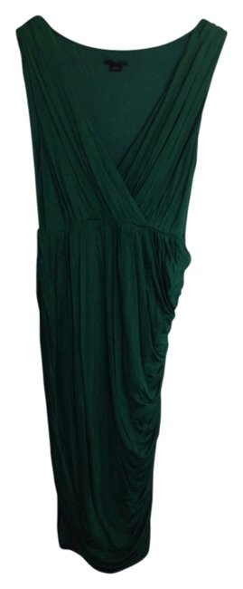 Item - Emerald Green Mid-length Night Out Dress Size 12 (L)