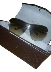 Gucci GUCC RIMLESS I SUNGLASSES with Swaroskvi Crystals