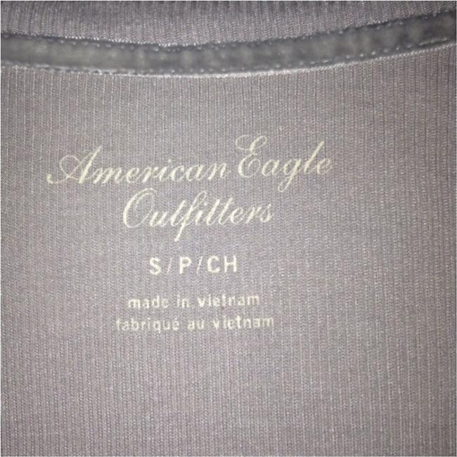 American Eagle Outfitters Top Gray Image 2