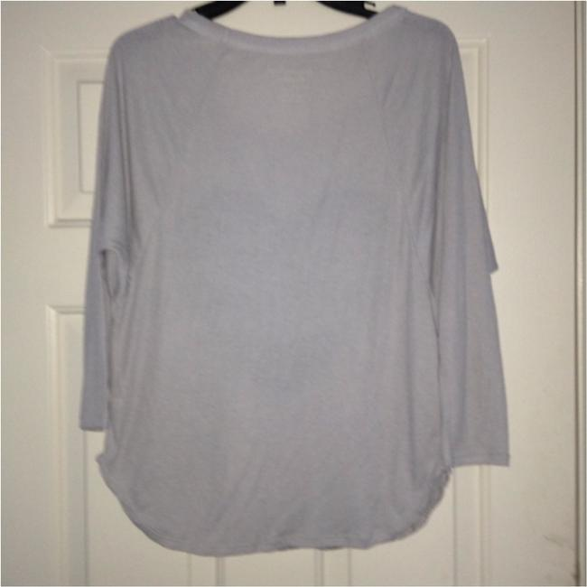 American Eagle Outfitters Top Gray Image 3