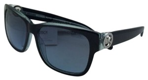 Michael Kors New MICHAEL KORS Sunglasses SALZBURG MK6003 300117 Black-Blue Frame w/ Blue Grey Gradient Lenses