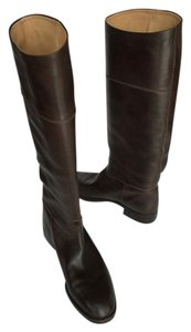 Jack Rogers Low Heel Knee High Brown Boots
