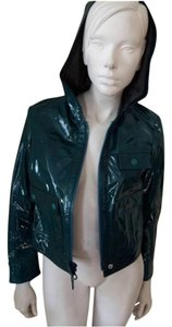 Proenza Schouler Green Leather Jacket