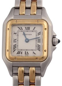 Cartier Ladies Two Tone Panthere Watch