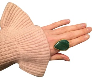 Other Statement Green Stone Adjustable Ring