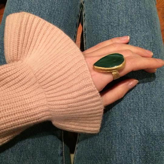 Other Statement Green Stone Adjustable Ring Image 1