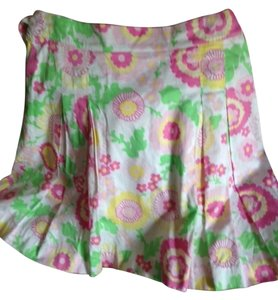 Lilly Pulitzer Skirt Multi colored bright Lilly Pulitzer print