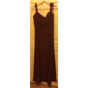 Jordan Fashions Burgundy Dress