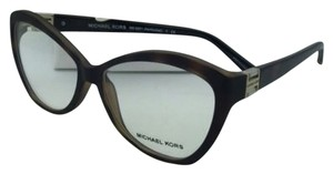 Michael Kors New MICHAEL KORS Eyeglasses NANTUCKET MK 4001 3049 DK Tortoise Soft Touch Frames