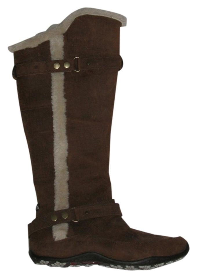 The North Face Brown Brown Face Knee-high Boots/Booties 5a1ac0