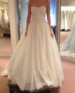 Vera Wang Ivory Ballgown Wedding Dress