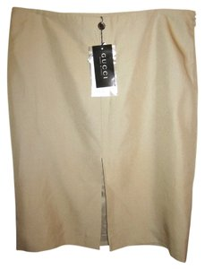 Gucci Skirt Beige
