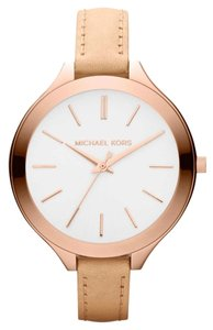Michael Kors Leather Watches Up to 90% off at Tradesy