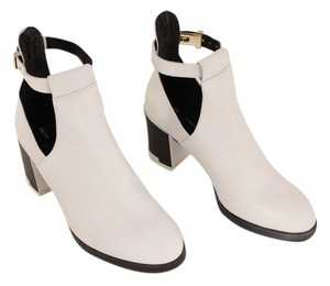 Miista Genuine Leather Imported White Boots