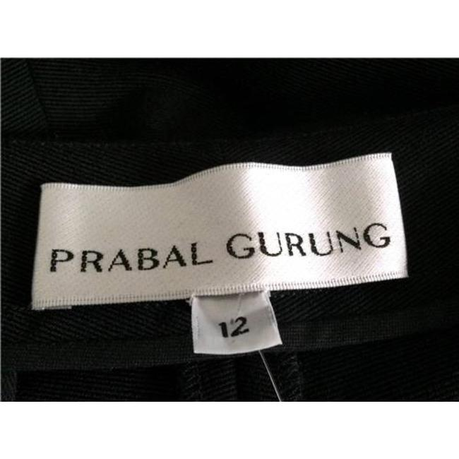 Prabal Gurung Trouser Pants Gray/Black Image 1