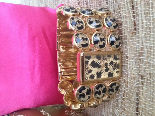 Betsey Johnson Betsy Johnson Leopard Watch