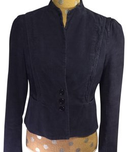 French Connection Fcuk Navy Steampunk blue Jacket