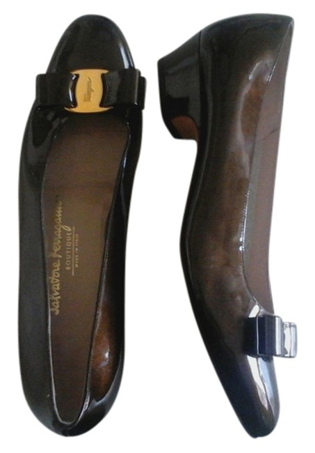 Item - Brown Patent Leather Pumps Size US 9 Narrow (Aa, N)