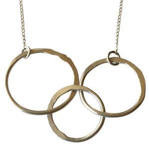 Other Sterling triple circle neckace