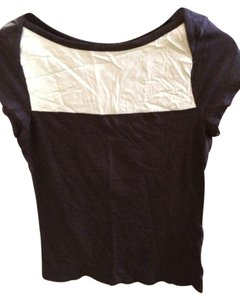 Merona T Shirt Blue two tone top