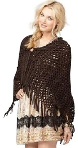 Free People Free People Sweater Knit Zig Zag Open Weave Scarf NWT$68 Be A Snow Princess Or Beat A Spring Chill