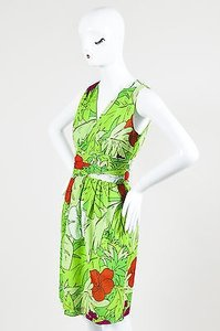 Moschino Cheap And Chic Green Dress