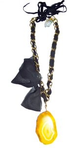 See by Chloe Belle By Micheline Yellow Topaz Necklace ,