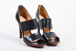 Bottega Veneta Brown Black Sandals
