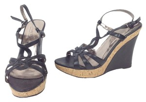 Charles David Black /Natural Wedges