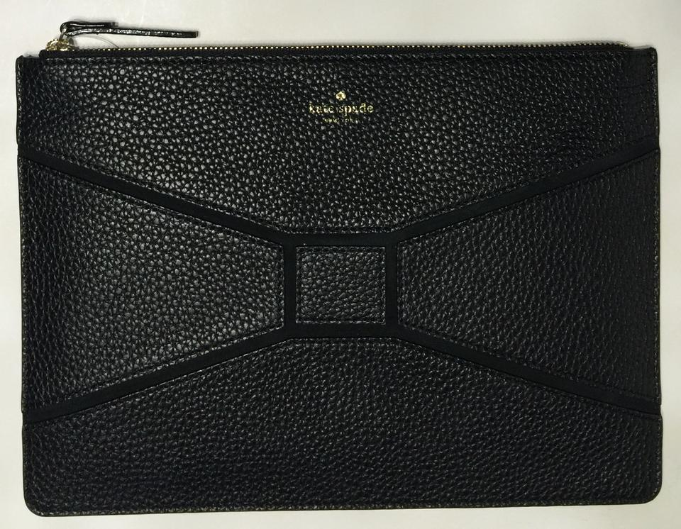 celine lacquered leather clutch