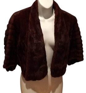 Alfred Boge Female Mink Shrug Mink Fur Cape