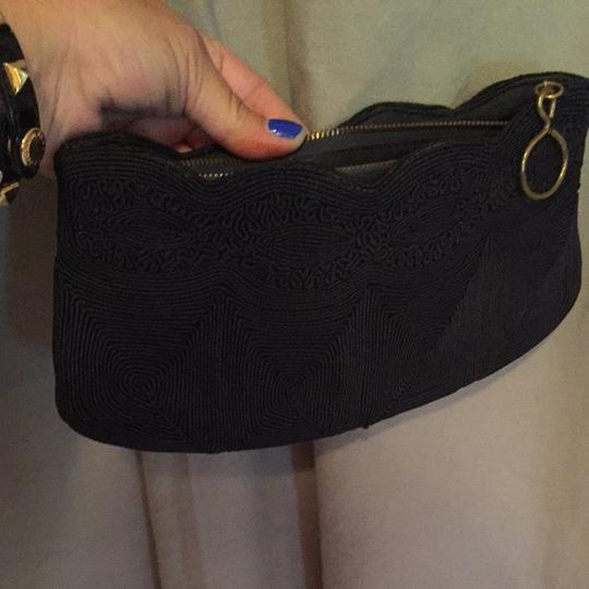 Other 1920's Corded black Clutch