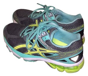 Asics Teal, Neon Yellow Athletic