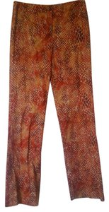 Collectibles by Starington Straight Pants Rust multi