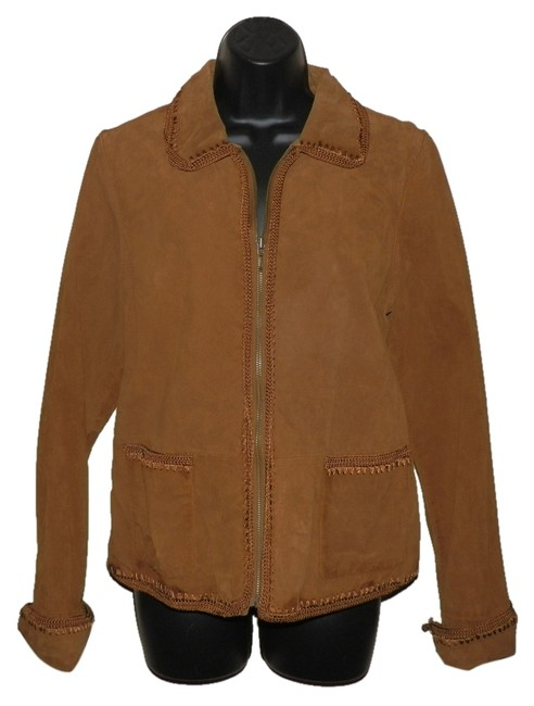 Preload https://item4.tradesy.com/images/christopher-and-banks-brown-leather-jacket-1294378-0-0.jpg?width=400&height=650