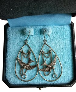 Juicy Couture Swallow drop earrings
