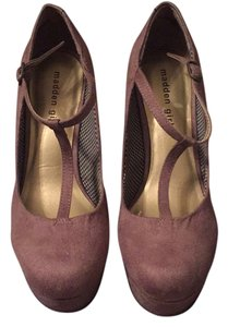 Madden Girl Taupe Wedges