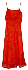 Ann Paige short dress Orange, red & yellow on Tradesy