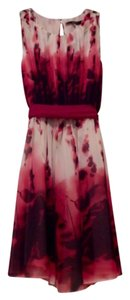 Ark & Co. short dress Multicolor of pink, burgandy, cream on Tradesy