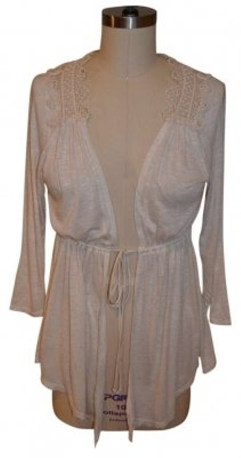 Preload https://item5.tradesy.com/images/charlotte-russe-ivory-cardigan-size-8-m-129444-0-0.jpg?width=400&height=650