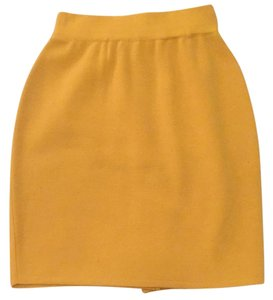 Henri Bendel Mini Skirt Sunflower Yellow
