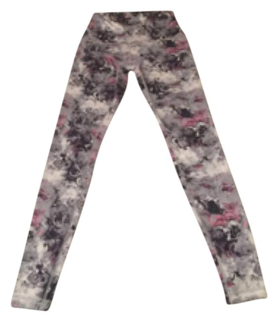 Item - White Grey Pink Black High Waisted Blouse Size 6 (S)
