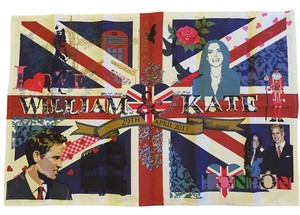 PRINCESS KATE Ulster Weavers SALE! William & Princess Kate Wedding Dish Towel