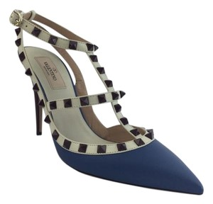 Valentino Pump Rockstud Blue Pumps
