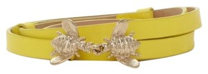 Kate Spade kate spade new york 'kissing bee' yellow belt Italy