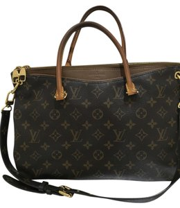 Louis Vuitton Lv Pallas Vuitton Pallas Mm Pallas Designer Luxury Handbag Leather Monogram Brown Havana Rare Tote