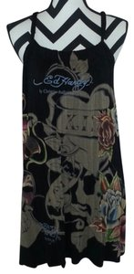 Ed Hardy short dress Black on Tradesy