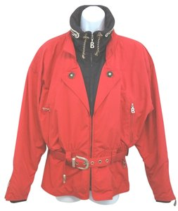 Bogner Layerlite Belted Ski RED Jacket
